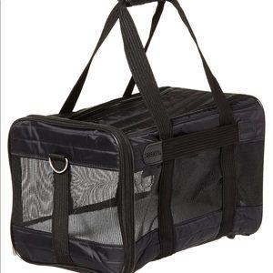 SHERPA Black Pet Airline Travel Bag Carrier Medium